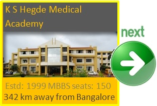 K S Hegde Medical Academy, Mangalore