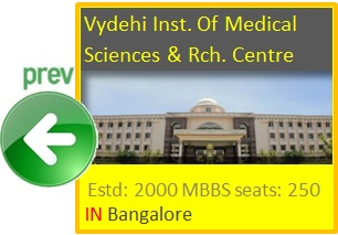 Vydehi Institute of Medical Sciences & Research Centre